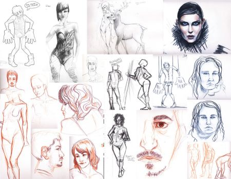 Sketchdump 2010-now by scootersneaks