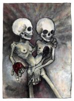 tarot card iii: the lovers. by blackbirdpie