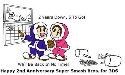2 Years Smashing on the 3DS by TaRtOoN-Man94