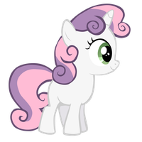 Enthused Sweetie Belle by Sueroski