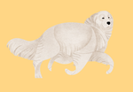 Year of the Dog - Great Pyrenees by Kelgrid