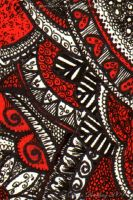 Hearts Paisley  ATC 19 by Quaddles-Roost