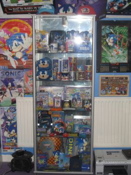 Sonic Display Cabinet by sonicrules100