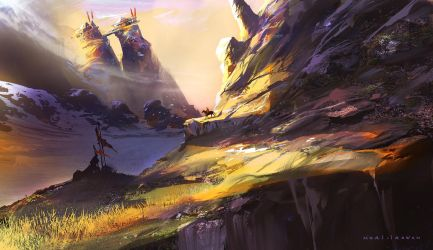 Spitpaint - Another Destination by irawandeviant
