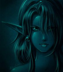 it's...blue by Saehral