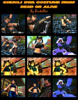ChunLi DWA Costume From Dead or Alive by BrutalAce