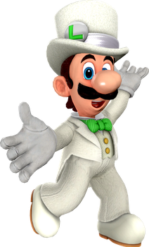 Luigi (Wedding Tux) by Fawfulthegreat64