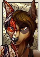 Commission 14 half mosaic by ChershireHatter