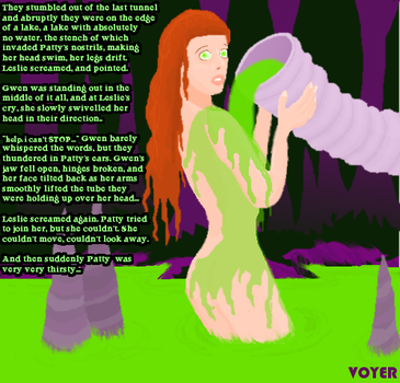 MCing slime and victim by hypnovoyer