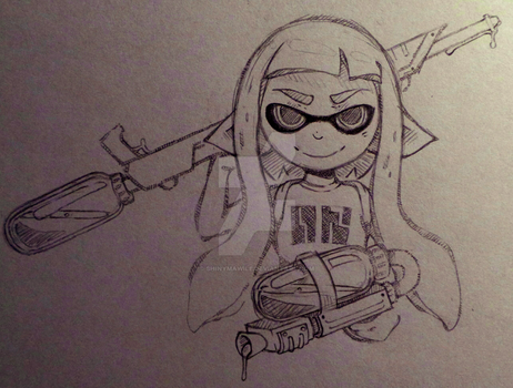 Splatoon girl by ShinyMawile