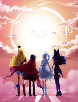 RWBY - Tribute to Monty Oum by Nijuuni