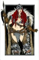 Red Sonja by TessFowler