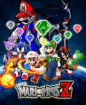 Super Mario Bros Z Season 2 Poster by AsylusGoji91