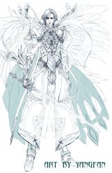 character design---dust by jiuge