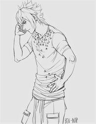 Noct on da Phone by Bev-Nap
