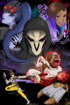 Overwatch Nemesis Comic Cover by SinArrow