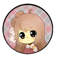 Chibi Headshot COM: Brookestah by MechanicMocha