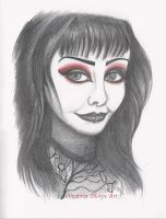 Shannon Gothic Sketch by VictoriaThorpe