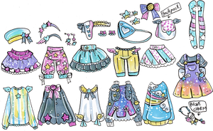 Custom Mix and Match outfits 6 by Guppie-Vibes