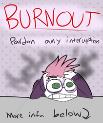 Burnout notification by Catmaniac8x