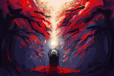 Red Forest by xminxicat