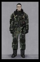 Pilot suit concept by philzero