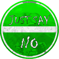 Just Say No by schooltrashers