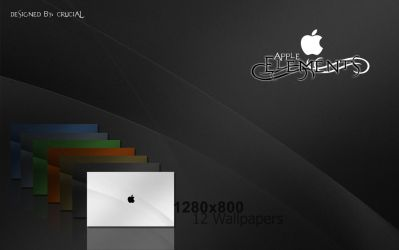 Apple Elements Wallpaper by xCrucialx