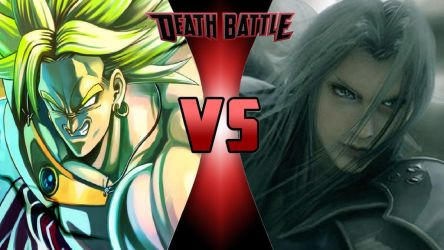 Broly vs. Sephiroth by OmnicidalClown1992