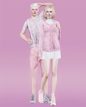 Sims Colors Challenge: Cameo Pink by heyyouanna