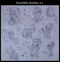 Fanchilds Sketches #1 by Nikytale
