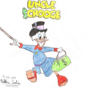 Uncle Scrooge by supernaturalnikka