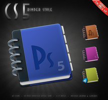 CS5 Binder Style by hotiron