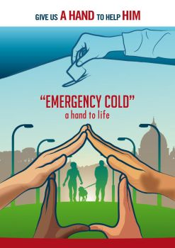 Emergency cold a hand to life by Sturby