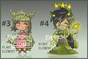Chibi batch #2 (Price lowered! 1 OPEN!) by emocx