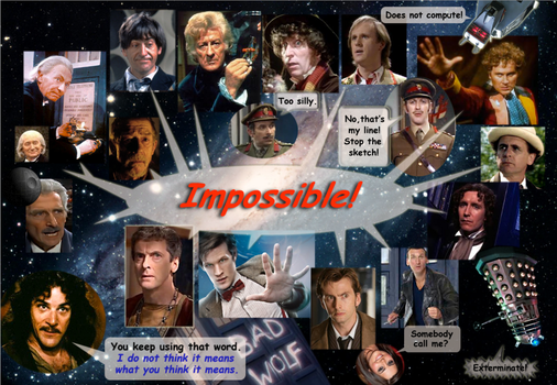 drWhoImpossible by AegisArtisan