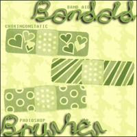 band aid brushes by chokingonstatic
