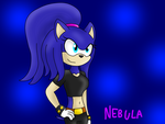 Nebula the Hedgehog by alexeigribanov
