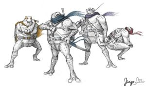 TMNT Redesign by JingoIllo