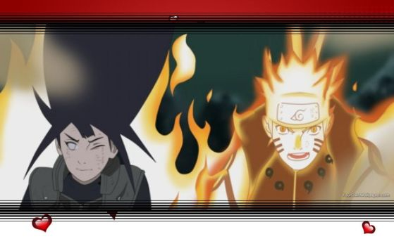 NaruHina Wallpaper by CatCamellia
