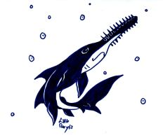 Challende Day 03 - Sawfish by ALittleLady