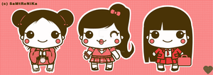 Cute japanese girl design by SaMtRoNiKa