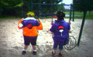 Naruto: Rival Swings by alswaiter