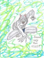 Duncan Wolf Man 09-28-8 by Lisa22882