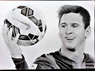 Lionel Messi by agnes21