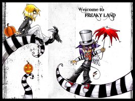 Welcome to Freaky Land by vanilliacoke