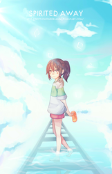 Spirited Away by BottleWonderland