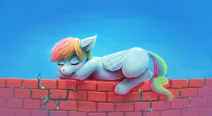 On the Fence by sharpieboss