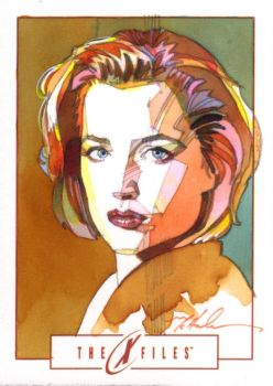 Dana Scully by markmchaley