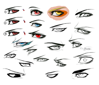 Eye Doodles by DivineImmortality
